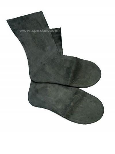 Gummi- bzw. Latex-Socken - kurz / extra dick L