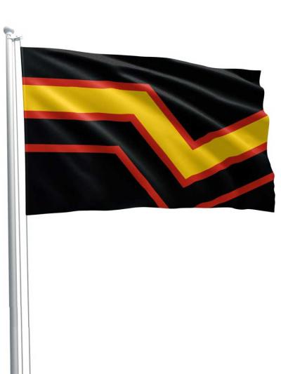 Rubber Pride Flagge 90x150cm