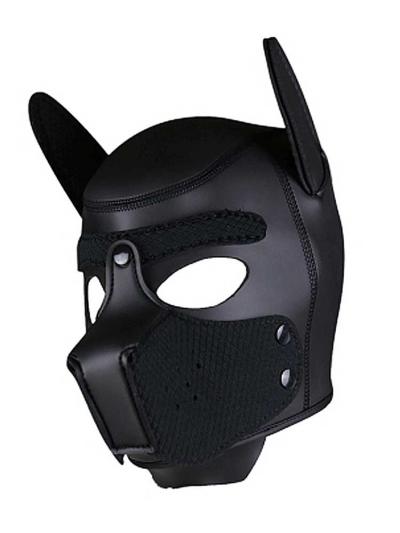 RUDERIDER Neopren Puppy-Maske schwarz