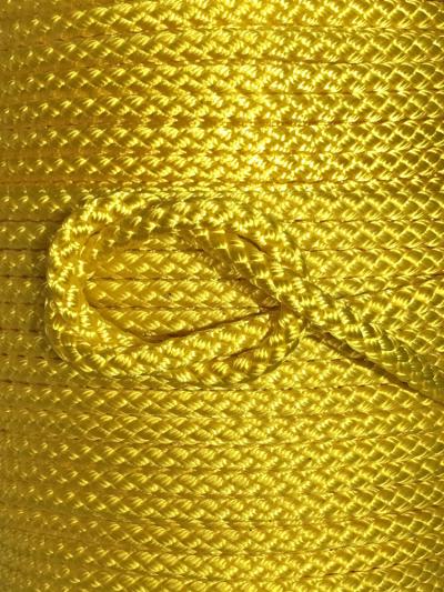 Seil aus Polyamid - gelb