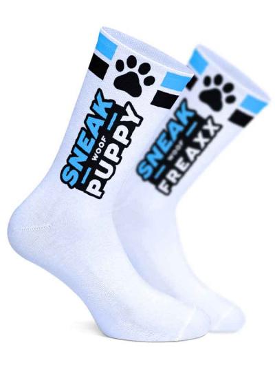 SNEAKFREAXX - WOOF PUPPY blau