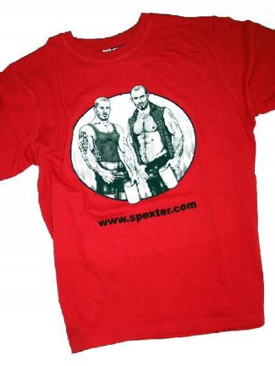 SpeXter T-Shirt, rot