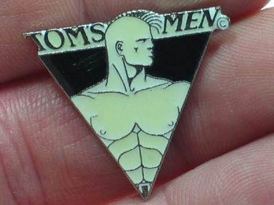 Tom of Finland Logo - Pin Dreieckig