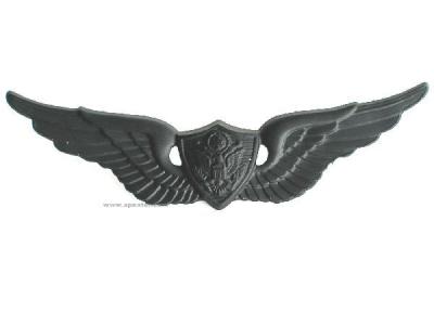 US-Fliegerspange, schwarz