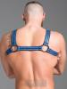 665 Neopren Brust-Harness - blau