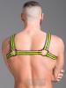 665 Neopren Brust-Harness - gelb