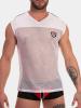 Barcode Shirt Fabi - weiss