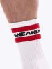 BARCODE SNEAKER Fetish Half Socks