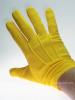 Uniform-Handschuhe, goldgelb