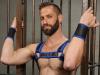 Mister S Neopren BULLDOG Harness - blau