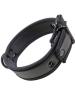 Mister S Neopren Puppy Halsband - schwarz/schwarz