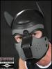 Mister S Neopren Puppy-Maske - schwarz/grau