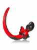 OXBALLS  SWIRL DOGTAIL PUG - rot-schwarz