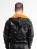 Riegillio Tracksuit Jacke orange Streifen