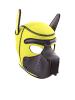 RUDERIDER Neopren Puppy-Maske gelb
