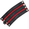 Armband SPEXTER DELUXE mit 2 roten Streifen