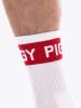 BARCODE PIGGY Fetish Half Socks