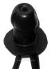 Blow-up Gummiknebel PENIS mit Schlauch - aufblasbar