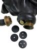 Breathcontrol-Scheiben für Gasmasken
