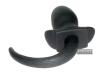 Butt-Plug DOGTAIL, Silikon, schwarz, XL