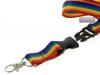 Gay Pride Schlüsselband, teilbar