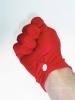 Uniform-Handschuhe - rot