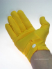 Uniform-Handschuhe - goldgelb