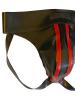 Gummi-Jock-Strap SPEXTER - zwei rote Streifen