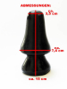Plug Modell PILZFORM - schwarz