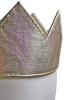 Leder-Krone für Kings and Queens - gold