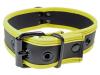 Mister S Neopren Puppy Halsband - schwarz/gelb