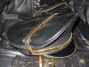 Leder-Kappe SPEXTER DELUXE - gold