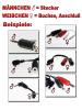 Reizstrom Adapter #9 - Klips und Vitatronic-Stift