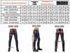 Mister B Leather FXXXer Shorts - graue Paspel