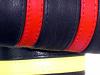 Armband SPEXTER DELUXE mit 2 farbigen Streifen ROT M