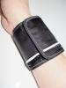 Armband-Handgelenk-Börse - schwarz