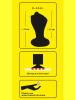 FIST FAUST - ANAL FISTPLUG - schwarz - 13cm