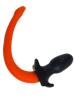 Mister S Silikon Puppy Tail - orange