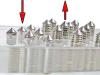 Acryl-Hodenpresse mit Spikes