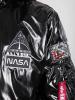 Alpha Industries MA-1 LW Hooded NASA - schwarz