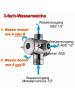 Wasser-Weiche ABS für Analdusche und Brause